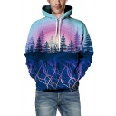Cool Mens Hoodie Forest Eagle Son GoKu Rainbow Cat Feather Arrow Jacket Chinese Letter Pattern Drawstring Slim Fitted Long Sleeve Hoodie