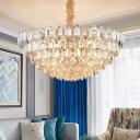 8/10 Lights K9 Crystal Pendulum Light Modern Silver Diamond Shaped Dining Room Chandelier Pendant