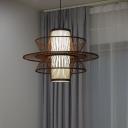 Coffee Gyro/Hourglass/Round Pendant Lamp Asia 20