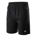 Mens Shorts Chic Reflective Knee-Length Quick Dry Sweat Absorbing Drawstring Waist Regular Fitted Sport Shorts