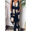 Elegant Women's Jumpsuit All over Graphic Printed V Neck Sleeveless Relaxed Fit Jumpsuit
