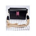Popular Logo Kpop Portable Fashion Casual Shoulder Bag Crossbody Bag 20*15*8cm