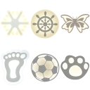 Nature Inspired Style LED Kids Cartoon Wall Light for Bedroom Various Designs for Option
