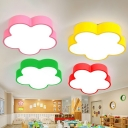 Flower Ceiling Mount Light Fixture Cartoon Acrylic Corridor LED Flush Mount Lighting