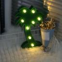 Trendy Kids Baubles Night Lamp Plastic Bedside LED Table Lighting, Battery Operation