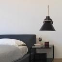 Macaron Horn Shaped Wall Lamp Fixture Metal 1-Bulb Bedroom Wall Mounted Reading Light