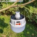 1 Piece Bowl Outdoor LED Hanging Light Plastic Modern Solar Pendant Light in White