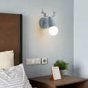 Rotatable Cone Shade Wall Lighting Nordic Metallic 1-Light Wall Sconce Light for Bedroom