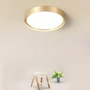 Acrylic Circle LED Flush Mount Light Simplicity Flush Mount Ceiling Light for Corridor