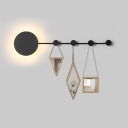 Functional Coat Rack Wardrobe Led Linear Wall Sconce 27.56