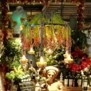 Industrial Botanical Chandelier Light Fixture Iron Hanging Ceiling Light for Music Bar