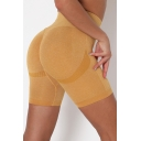 Womens Shorts Athletic Mention Butt Quick Dry High Waist Skinny Fit Yoga Shorts