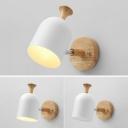 Single Light Wall Light Nordic Style Metal Sconce Light for Living Room Bedroom