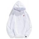 Adults Unisex Hoodie Pure Color Long Sleeves Drawstring Kangaroo Pocket Pullover Loose Fit Hoodie