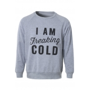 Women's I Am Freaking Cold Fashion Pullover Sweatshirt