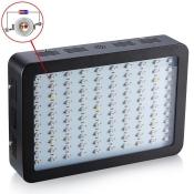 1000W LED Grow Light Full Specturm 100 LEDs 13000LM - Black
