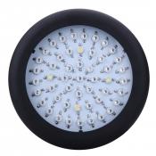 UFO 150W Full Spectrum LED Grow Light 50 LEDs 3000LM - Black