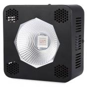 192W COB LED Grow Light for Full Spectrum 64 LEDs (Black)