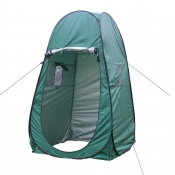 Pop Up Tent Private Shower Tent Green Coating Waterproof, 77 Inches High 1.8kg