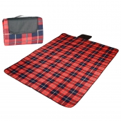 4P Tent Footprint for Picnics (Red)