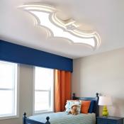 Batman Boys Bedroom LED Ceiling Lamp Ultra-Thin