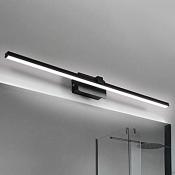 Bedside Bathroom Mirror Wall Lights 8W-16W Black/White Aluminum LED Slim Linear Vanity Light LED Warm White Neutral 5 Sizes Available