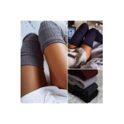 Winter's New Stylish Cotton-Jersey Over Knee Stockings