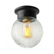 Traditional 1 Light Down Lighting LED Flushmount Ceiling Fixture