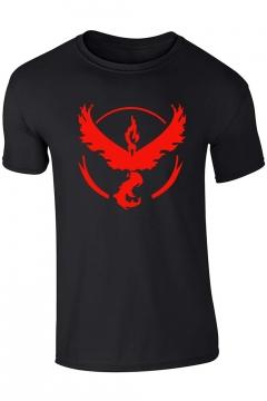 Fashion Print Short Sleeve T-shirt