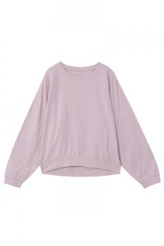 Women's Fashion Batwing Sleeve Round Neck Plain Oversize Casual Tee