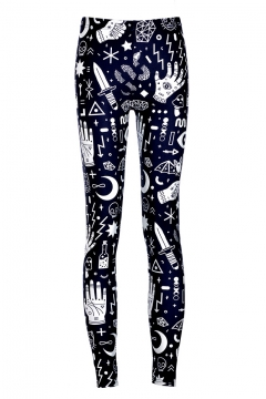 16ceb255af13 Fashion Style Printed Leggings - Beautifulhalo.com