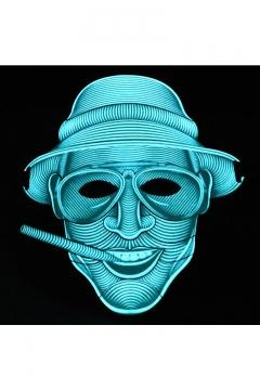 Stylish Halloween Series Voice Control LED Light Mask