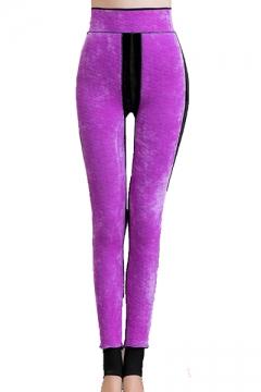 7b3da71ea8869d Christmas Series Unicorn Feather Printed Elastic Waist Skinny Leggings. USD  $18.10. USD $28.39. (3). High Waist Velvet Skinny Step Foot Leggings