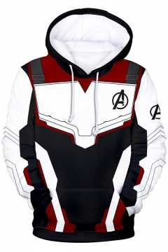 The Avengers Quantum Battle Suit Cosplay Costume Unisex Relaxed Hoodie