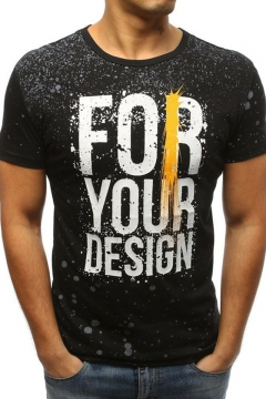 Cool Splash Ink Letter FOR YOUR DESIGN Mens Fitted Sport T-Shirt