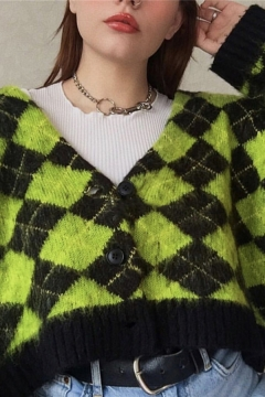 Fashion Style Green, Cardigans Sweaters & Cardigans