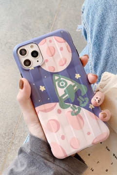 Popular Cartoon Rocket Patterned iPhone 11 Pro Phone Case