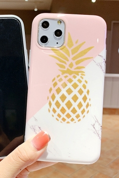 Fashionable Pineapple Patterned iPhone 11 / X Phone Case