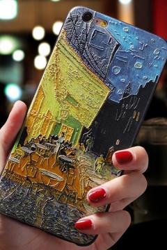 Trendy Letter VAN GOGH Oil Painting iPhone 11 / X Phone Case