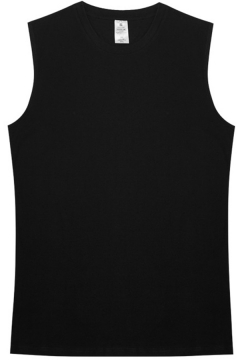 Basic Tank Solid Color Sleeveless Crew Neck Relaxed Fit Tank Top for Men