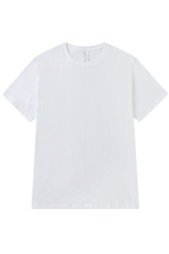 Basic Mens T Shirt Solid Color Short Sleeve Crew Neck Loose Fit Tee Top