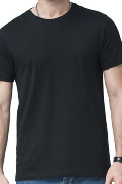 Urban T-Shirt Pure Color Short-Sleeved Crew Neck T-Shirt for Men