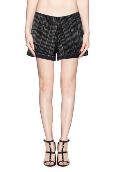 Drawstring Tie Front Plain Harem Pants for Women