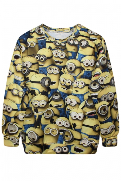 All Over Minions Funny Style Sweatshirt