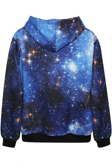 Galaxy Hoodie Hoodie Blue Blue Print Blue Hoodie Blue Blue Galaxy Hoodie Galaxy Print Galaxy Print Print OqgfX