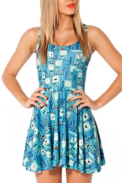 A Line Tank Dress