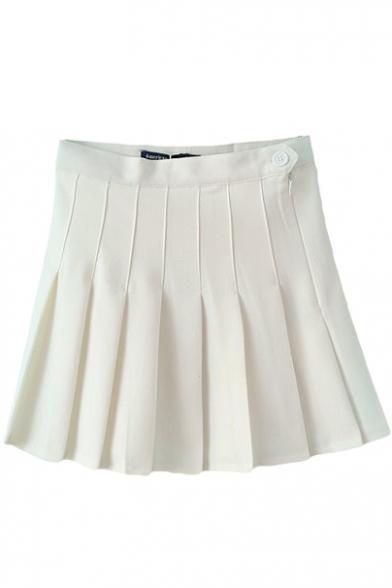 Pleated Tennis Style Skirt