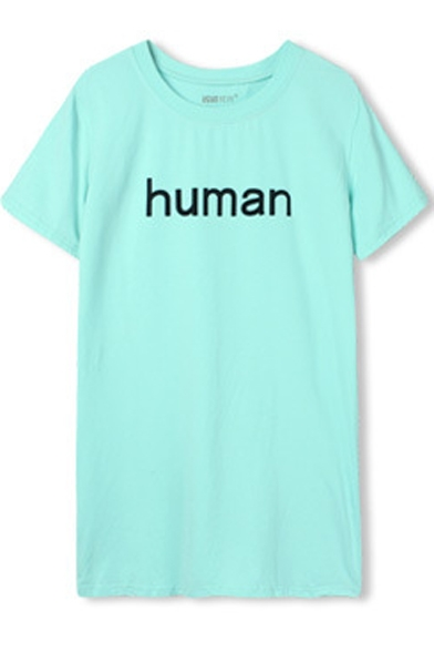 Human Print Short Sleeve T-Shirt