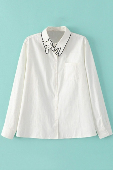Image is loading Nona-Men-039-s-Size-L-Large-Embroidered-