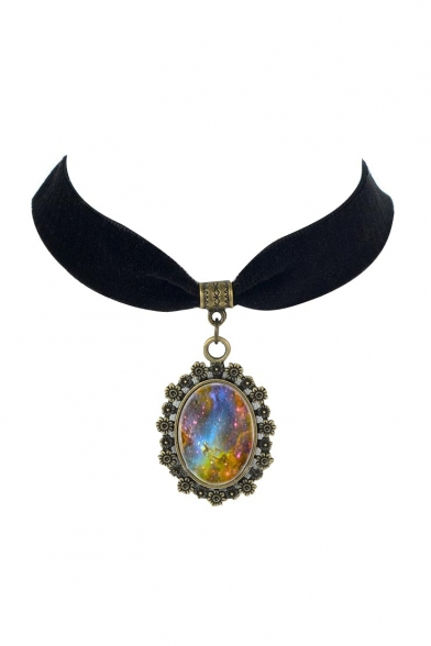 Metal Vintage Galaxy Women's Necklaces